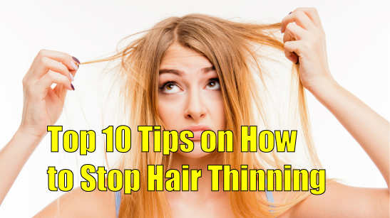 How to stop hair thinning